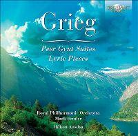 Cover Mark Ermler / Royal Philharmonic Orchestra / Håkon Austbø - Grieg - Peer Gynt Suites
