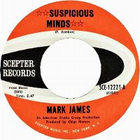 Cover Mark James - Suspicious Minds