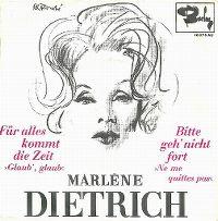 Cover Marlene Dietrich - Für alles kommt die Zeit