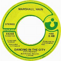 Cover Marshall, Hain - Dancing In The City