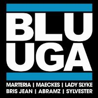 Cover Marteria / Maeckes / Lady Slyke / Bris Jean / Abramz / Sylvester - Blue Uganda
