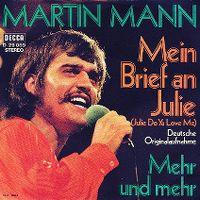 Cover Martin Mann - Mein Brief an Julie