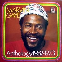 Cover Marvin Gaye - Anthology 1962 - 1973