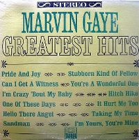 Cover Marvin Gaye - Greatest Hits