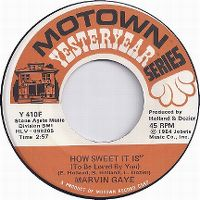 Cover Marvin Gaye - How Sweet It Is (To Be Loved By You)