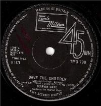 Cover Marvin Gaye - Save The Children