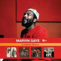 Cover Marvin Gaye - x4CD: 4 Original Albums