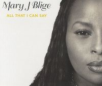Cover Mary J Blige - All That I Can Say