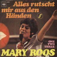 Cover Mary Roos - Alles rutscht mir aus den Händen