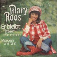 Cover Mary Roos - Er bleibt hier (für immer)