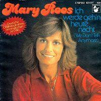 Cover Mary Roos - Ich werde geh'n heute nacht