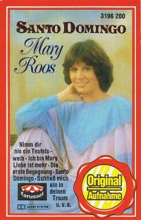 Cover Mary Roos - Santo Domingo