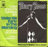 Cover Mary Roos - Wake Me Early In The Morning