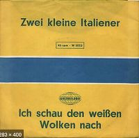 Cover Mary Roos - Zwei kleine Italiener