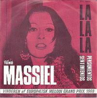 Cover Massiel - La la la