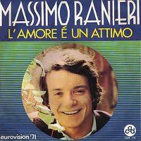 Cover Massimo Ranieri - L'amore è un attimo