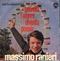 Cover Massimo Ranieri - Quando l'amore diventa poesia