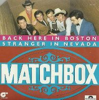 Cover Matchbox - Back Here In Boston