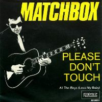 Cover Matchbox - Please Don't Touch