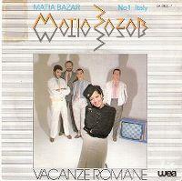 Cover Matia Bazar - Vacanze romane