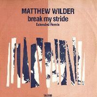 Cover Matthew Wilder - Break My Stride