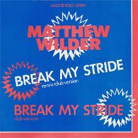 Cover Matthew Wilder - Break My Stride