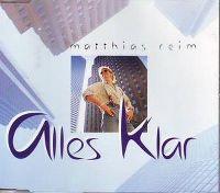 Cover Matthias Reim - Alles klar