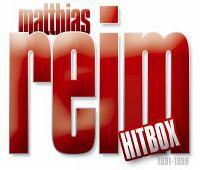 Cover Matthias Reim - Hitbox 1991-1999