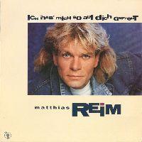 Cover Matthias Reim - Ich hab' mich so auf dich gefreut