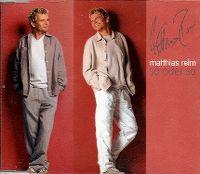 Cover Matthias Reim - So oder so