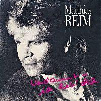Cover Matthias Reim - Verdammt - ich lieb' dich