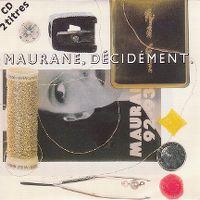Cover Maurane - Décidément