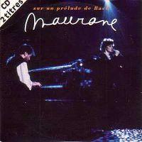 Cover Maurane - Sur un prélude de Bach