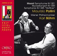 Cover Maurizio Pollini / Wiener Philharmoniker / Karl Böhm - Mozart