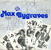 Cover Max Bygraves - Deck Of Cards