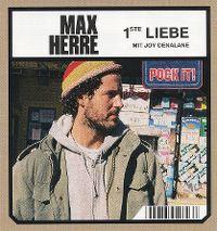 Cover Max Herre mit Joy Denalane - 1ste Liebe
