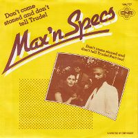 Cover Max 'n Specs - Don't Come Stoned And Don't Tell Trude!