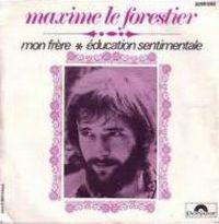 Cover Maxime Le Forestier - Mon frère