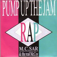Cover M.C. Sar & The Real McCoy - Pump Up The Jam Rap