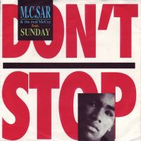 Cover M.C. Sar & The Real McCoy feat. Sunday - Don't Stop
