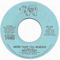 Cover Meat Loaf - More Than You Deserve
