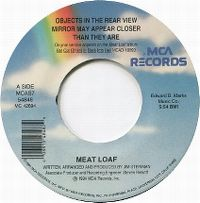 Cover Meat Loaf - Objects In The Rear View Mirror May Appear Closer Than They Are