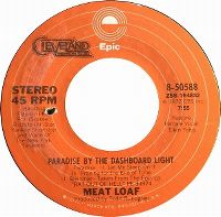 Cover Meat Loaf - Paradise By The Dashboard Light