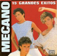 Cover Mecano - 15 grandes éxitos