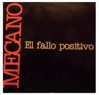 Cover Mecano - El fallo positivo