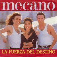 Cover Mecano - La fuerza del destino