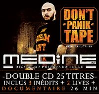 Cover Médine - Don't Panik Tape