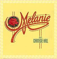 Cover Melanie - Live At Carnegie Hall