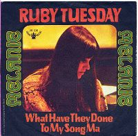Cover Melanie - Ruby Tuesday