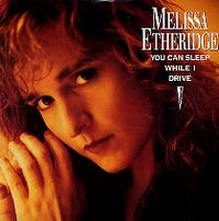 Cover Melissa Etheridge - You Can Sleep While I Drive